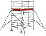 Krause STABILO Professional gurulóállvány, 5000 -es sorozat, mezőméret: 2 m x 1.5 m, munkamagasság: 4.3 m