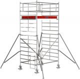 Krause STABILO Professional gurulóállvány, 5000 -es sorozat, mezőméret: 2 m x 1.5 m, munkamagasság: 5.3 m