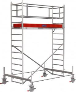 Krause STABILO Professional gurulóállvány, 100 -as sorozat, mezőméret: 2.5 m x 0.75 m, munkamagasság: 4.4 m termék fő termékképe