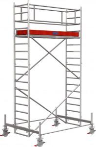 Krause STABILO Professional gurulóállvány, 100 -as sorozat, mezőméret: 2.5 m x 0.75 m, munkamagasság: 5.4 m termék fő termékképe
