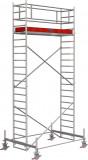 Krause STABILO Professional gurulóállvány, 100 -as sorozat, mezőméret: 2.5 m x 0.75 m, munkamagasság: 6.4 m