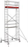 Krause STABILO Professional gurulóállvány, 100 -as sorozat, mezőméret: 2.5 m x 0.75 m, munkamagasság: 7.4 m
