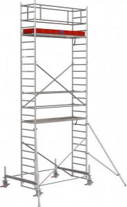 Krause STABILO Professional gurulóállvány, 100 -as sorozat, mezőméret: 2.5 m x 0.75 m, munkamagasság: 7.4 m termék fő termékképe