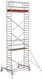 Krause STABILO Professional gurulóállvány, 100 -as sorozat, mezőméret: 2,5 m x 0.75 m, munkamagasság: 8.4 m