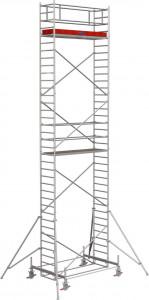 Krause STABILO Professional gurulóállvány, 100 -as sorozat, mezőméret: 2.5 m x 0.75 m, munkamagasság: 10.4 m termék fő termékképe