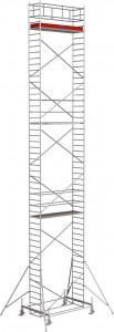Krause STABILO Professional gurulóállvány, 100 -as sorozat, mezőméret: 2.5 m x 0.75 m, munkamagasság: 14.4 m termék fő termékképe