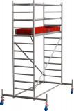 Krause STABILO Professional gurulóállvány, 10 -es sorozat, mezőméret: 2.5 m x 0.75 m, munkamagasság: 4.4 m