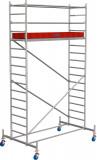 Krause STABILO Professional gurulóállvány, 10 -es sorozat, mezőméret: 2.5 m x 0.75 m, munkamagasság: 5.4 m