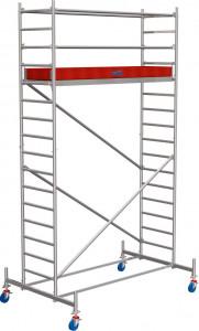 Krause STABILO Professional gurulóállvány, 10 -es sorozat, mezőméret: 2.5 m x 0.75 m, munkamagasság: 5.4 m termék fő termékképe