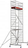 Krause STABILO Professional gurulóállvány, 10 -es sorozat, mezőméret: 2.5 m x 0.75 m, munkamagasság: 7.4 m