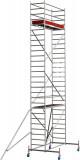 Krause STABILO Professional gurulóállvány, 10 -es sorozat, mezőméret: 2.5 m x 0.75 m, munkamagasság: 8.4 m