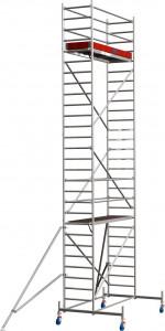 Krause STABILO Professional gurulóállvány, 10 -es sorozat, mezőméret: 2.5 m x 0.75 m, munkamagasság: 8.4 m termék fő termékképe