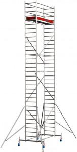 Krause STABILO Professional gurulóállvány, 10 -es sorozat, mezőméret: 2.5 m x 0.75 m, munkamagasság: 9.4 m termék fő termékképe