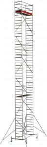 Krause STABILO Professional gurulóállvány, 10 -es sorozat, mezőméret: 2.5 m x 0.75 m, munkamagasság: 14.4 m termék fő termékképe