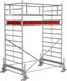 Krause STABILO Professional gurulóállvány, 500 -as sorozat, mezőméret: 2.5 m x 1.5 m, munkamagasság: 4.4 m