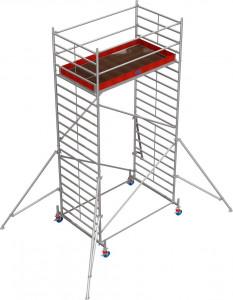 Krause STABILO Professional gurulóállvány, 50 -es sorozat, mezőméret: 2.5 m x 1.5 m, munkamagasság: 6.4 m termék fő termékképe