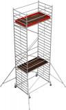 Krause STABILO Professional gurulóállvány, 50 -es sorozat, mezőméret: 2.5 m x 1.5 m, munkamagasság: 8.4 m