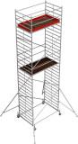 Krause STABILO Professional gurulóállvány, 50 -es sorozat, mezőméret: 2.5 m x 1.5 m, munkamagasság: 9.4 m