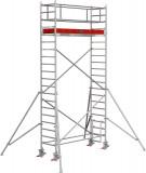 Krause STABILO Professional gurulóállvány, 1000 -es sorozat, mezőméret: 2.5 m x 0.75 m, munkamagasság: 6.3 m