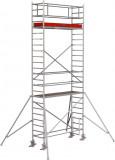Krause STABILO Professional gurulóállvány, 1000 -es sorozat, mezőméret: 2.5 m x 0.75 m, munkamagasság: 7.3 m
