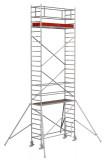 Krause STABILO Professional gurulóállvány, 1000 -es sorozat, mezőméret: 2.5 m x 0.75 m, munkamagasság: 8.3 m