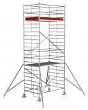 Krause STABILO Professional gurulóállvány, 5000 -es sorozat, mezőméret: 2.5 m x 1.5 m, munkamagasság: 7.3 m