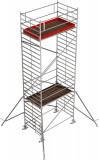 Krause STABILO Professional gurulóállvány, 5000 -es sorozat, mezőméret: 2.5 m x 1.5 m, munkamagasság: 8.3 m