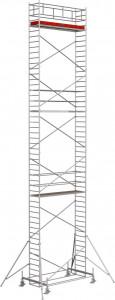 Krause STABILO Professional gurulóállvány, 100 -as sorozat, mezőméret: 3 m x 0.75 m, munkamagasság: 14.4 m termék fő termékképe