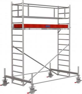 Krause STABILO Professional gurulóállvány, 100 -as sorozat, mezőméret: 3 m x 0.75 m, munkamagasság: 4.4 m termék fő termékképe