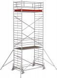 Krause STABILO Professional gurulóállvány, 500 -as sorozat, mezőméret: 3 m x 1.5 m, munkamagasság: 8.4 m