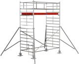 Krause STABILO Professional gurulóállvány, 5000 -es sorozat, mezőméret: 3 m x 1.5 m, munkamagasság: 5.3 m