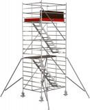 Krause STABILO Professional lépcsős gurulóállvány, 5500 -as sorozat, munkamagasság: 6.5 m