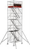 Krause STABILO Professional lépcsős gurulóállvány, 5500 -as sorozat, munkamagasság: 8.5 m