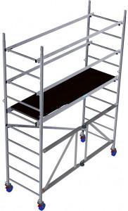 Krause ProTec XS alumínium állvány, munkamagasság: 3.7 m termék fő termékképe