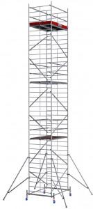 Krause ProTec XXL alumínium gurulóállvány, széles változat, munkamagasság: 11.3 m termék fő termékképe