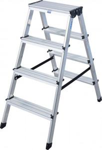 Krause MONTO Dopplo két oldalon járható lépcsőfokos állólétra, 2x4 fokos termék fő termékképe