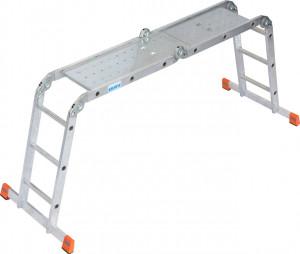 Krause MONTO MultiMatic univerzális csuklós létra, 4x3 fokos termék fő termékképe