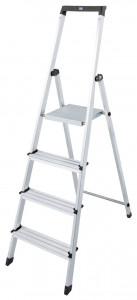 Krause MONTO Solidy egy oldalon járható lépcsőfokos állólétra, 4 fokos termék fő termékképe