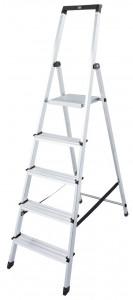 Krause MONTO Solidy egy oldalon járható lépcsőfokos állólétra, 5 fokos termék fő termékképe