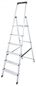 Krause MONTO Solidy egy oldalon járható lépcsőfokos állólétra, 6 fokos termék fő termékképe