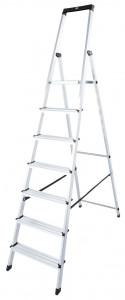 Krause MONTO Solidy egy oldalon járható lépcsőfokos állólétra, 7 fokos termék fő termékképe