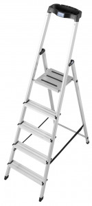 Krause MONTO Safety egy oldalon járható lépcsőfokos állólétra, 5 fokos termék fő termékképe