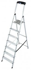 Krause MONTO Safety egy oldalon járható lépcsőfokos állólétra, 7 fokos termék fő termékképe