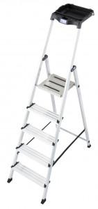 Krause MONTO Secury egy oldalon járható lépcsőfokos állólétra, 5 fokos termék fő termékképe