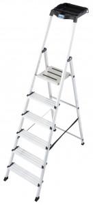 Krause MONTO Secury egy oldalon járható lépcsőfokos állólétra, 6 fokos termék fő termékképe