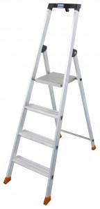 Krause MONTO Solido egy oldalon járható lépcsőfokos állólétra, 4 fokos termék fő termékképe