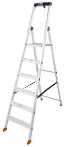 Krause MONTO Solido egy oldalon járható lépcsőfokos állólétra, 6 fokos termék fő termékképe