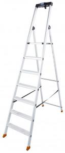 Krause MONTO Solido egy oldalon járható lépcsőfokos állólétra, 7 fokos termék fő termékképe