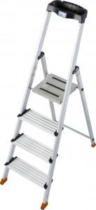 Krause MONTO Sepuro egy oldalon járható lépcsőfokos állólétra, 4 fokos termék fő termékképe