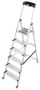 Krause MONTO Sepuro egy oldalon járható lépcsőfokos állólétra, 6 fokos termék fő termékképe